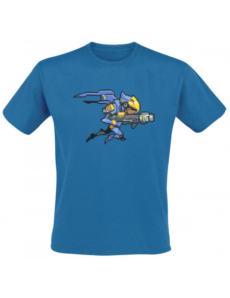 Overwatch Pharah T-shirt bleu