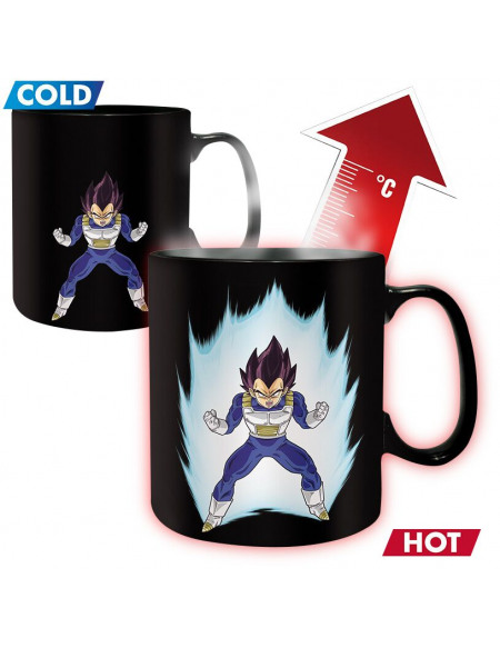 Mug thermoréactif Dragon Ball Z - Vegeta - 460 ml