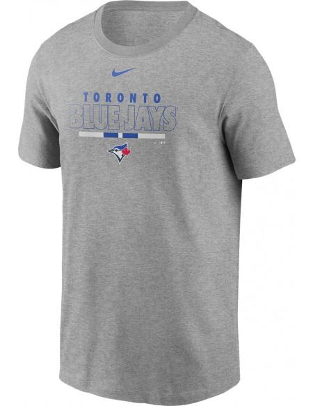 MLB Nike - Toronto Blue Jays T-shirt gris sombre chiné