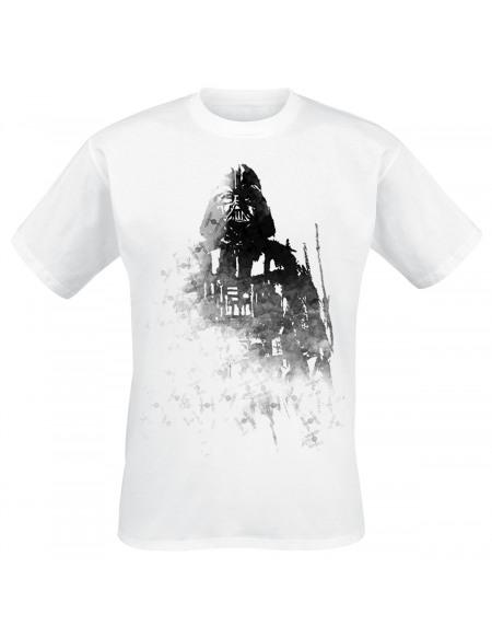 Star Wars Dark Vador - Ink T-shirt blanc