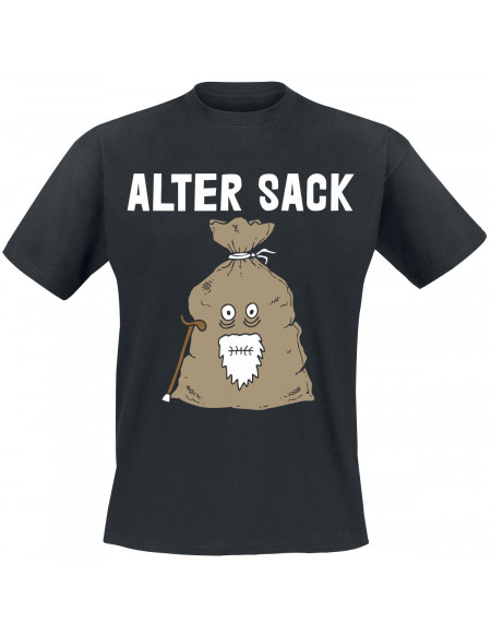 Alter Sack T-shirt noir
