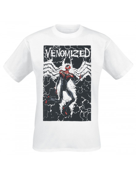 Spider-Man Venomized T-shirt blanc
