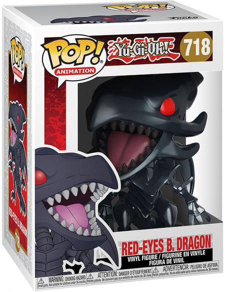 Yu-Gi-Oh! Dragon Noir Aux Yeux Rouges - Funko Pop! n°718 Figurine de collection Standard