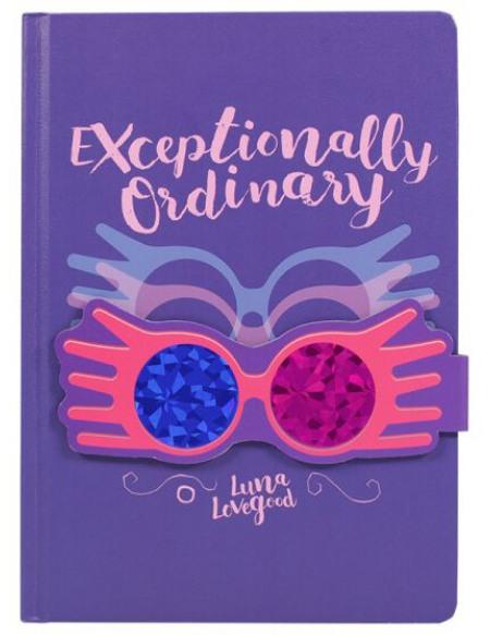 Harry Potter Luna Lovegood - Exceptionally Ordinary Cahier multicolore