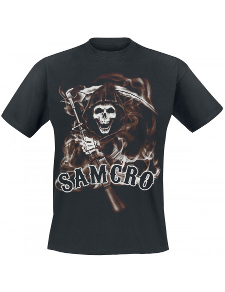Sons Of Anarchy Samcro Reaper T-shirt noir