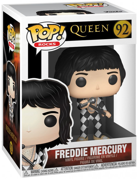 Queen Freddie Mercury Rocks Vinyl Figure 92 Figurine de collection Standard