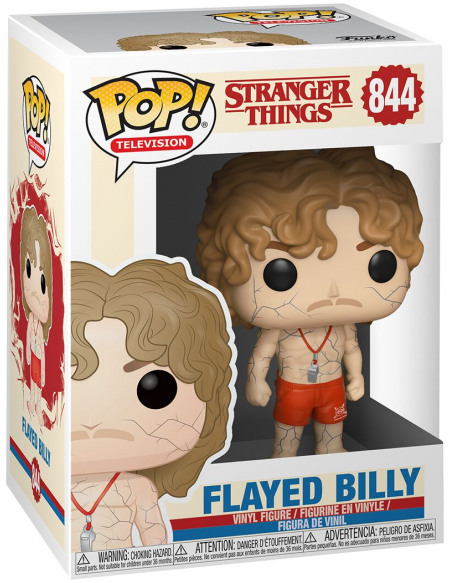 Stranger Things Saison 3 - Billy Flagellé - Funko Pop! n°844 Figurine de collection Standard