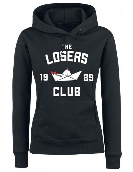 ÇA Kapitel 2 - The Losers Club Sweat à Capuche Femme noir