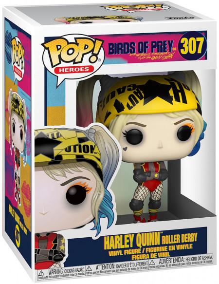 Birds Of Prey Harley Quinn Roller Derby - Funko Pop! n°307 Figurine de collection Standard