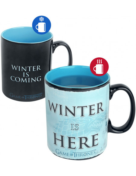 Game Of Thrones Winter is here - Mug Thermoréactif Mug multicolore