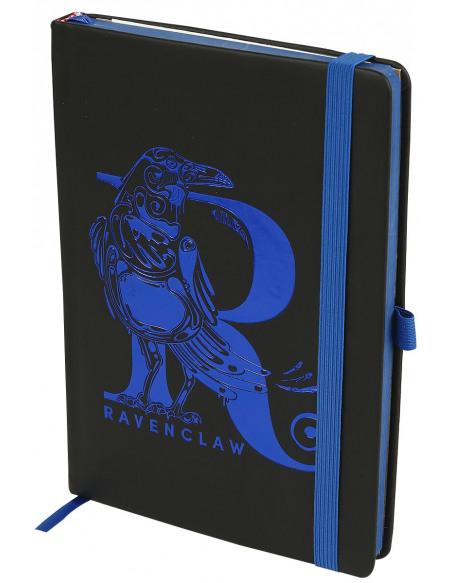 Harry Potter Serdaigle - Carnet Premium Cahier noir/bleu