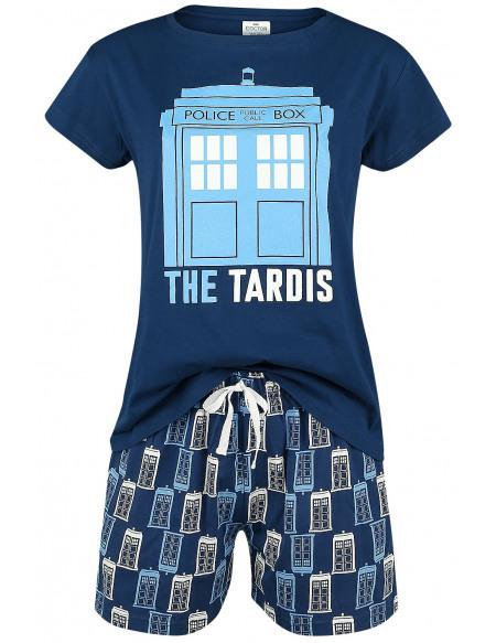 Doctor Who Tardis Pyjama bleu