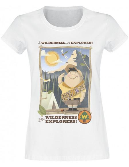 Là-Haut Russell - Wilderness Explorer T-shirt Femme blanc