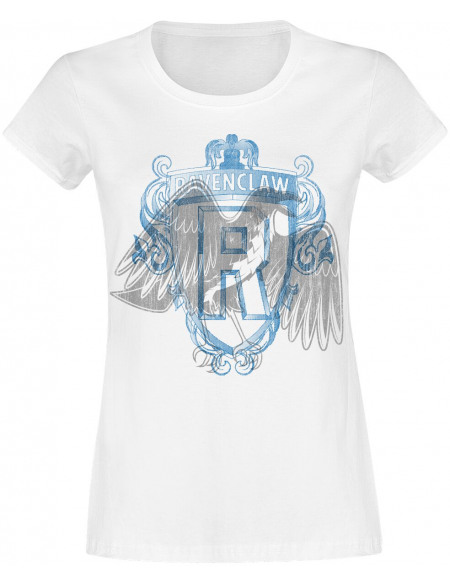 Harry Potter Serdaigle - Blason T-shirt Femme blanc
