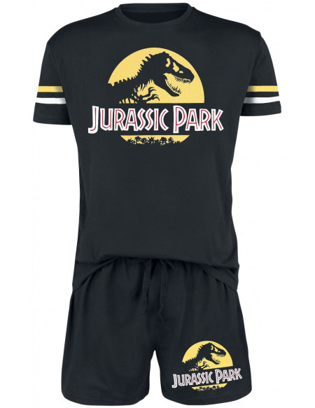 Jurassic Park Logo Pyjama noir