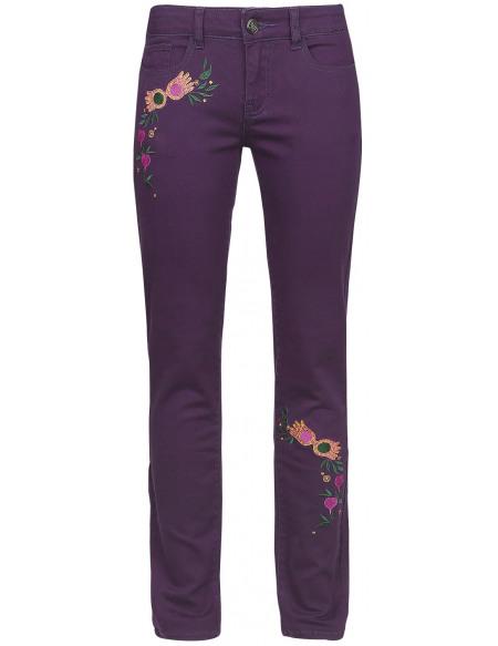 Harry Potter Luna Lovegood - Dirigible Plums Pantalon Femme aubergine