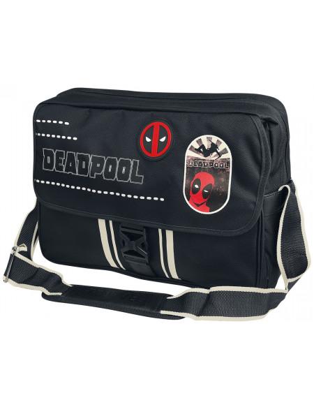 Deadpool Logo Deadpool Besace noir