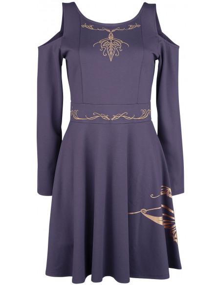 Le Seigneur Des Anneaux Arwen Robe Violet foncé