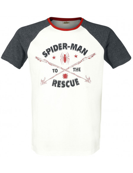 Spider-Man To The Rescue T-shirt blanc/gris