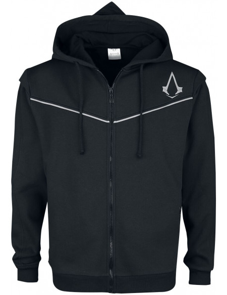 Assassin's Creed Syndicate Sweat Zippé à Capuche noir