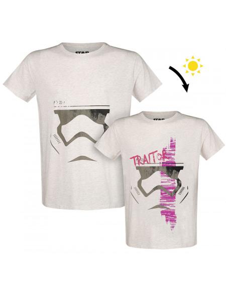 Star Wars Traitor UV T-shirt beige chiné