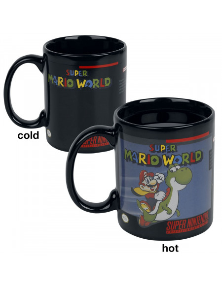Super Mario Mug Thermo-Réactif Mug multicolore