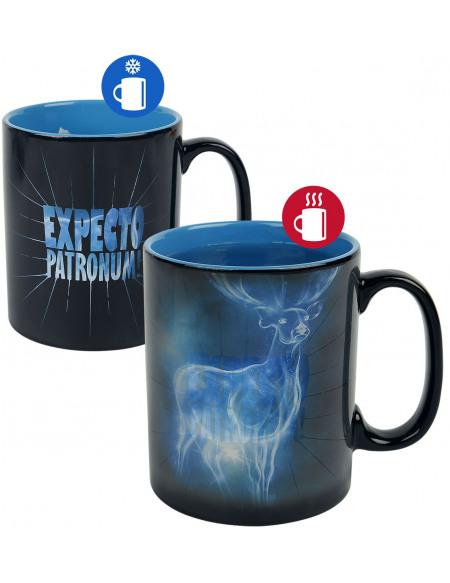 Harry Potter Patronus - Mug Thermo-Réactif Mug multicolore