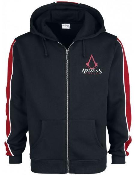 Assassin's Creed Emblème Sweat Zippé à Capuche noir