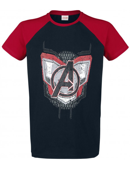 Avengers Uniform T-shirt noir/rouge
