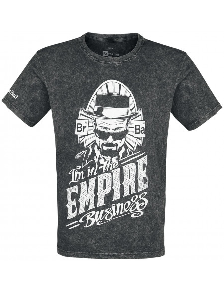 Breaking Bad I´m In The Empire Business T-shirt gris