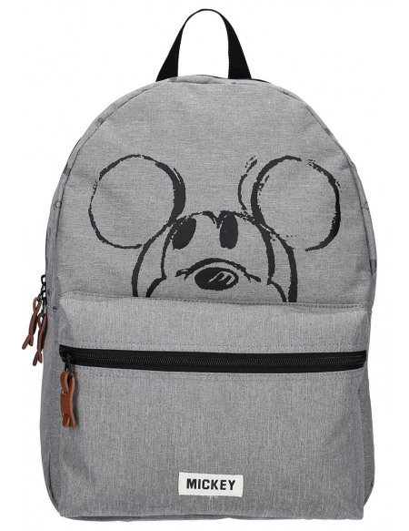 Mickey & Minnie Mouse Mickey Sac à Dos gris