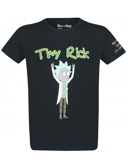 Rick & Morty Mini Rick T-shirt noir