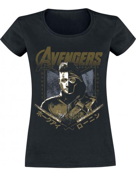 Avengers Endgame - Hawkeye Ronin T-shirt Femme noir