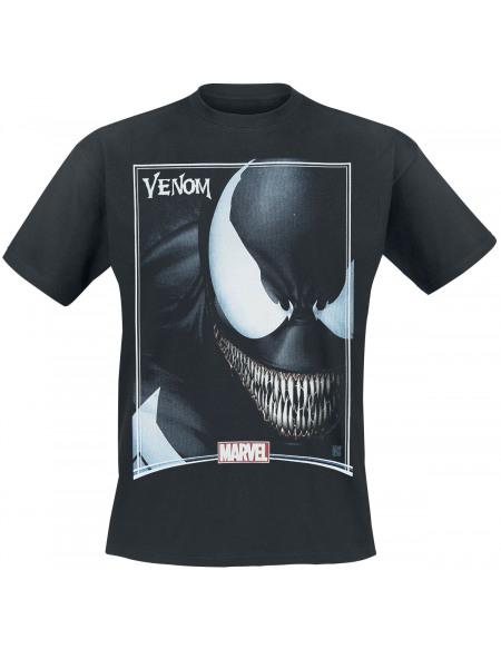 Venom (Marvel) Cover T-shirt noir