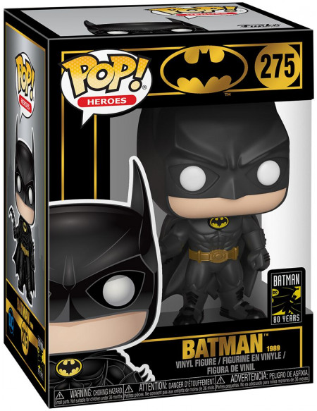Figurine Funko pop Heroes Batman 80TH Batman 1989