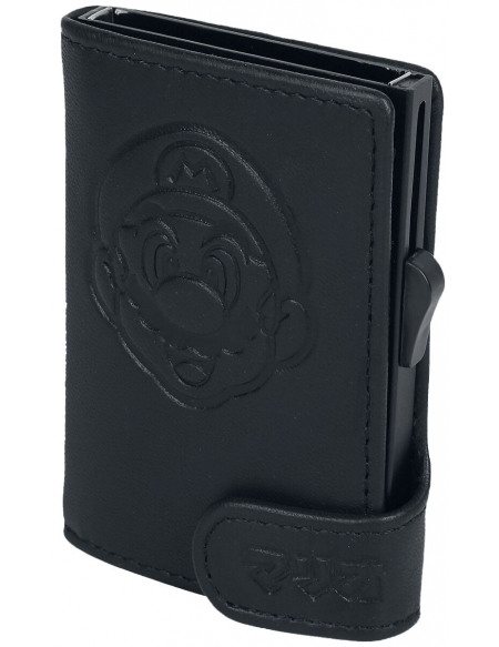 Super Mario Card Click Holder Porte-cartes noir
