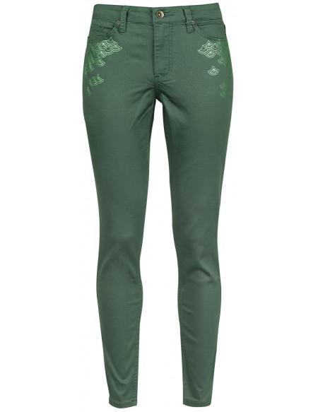 La Petite Sirène Ready To Stand Pantalon Femme vert foncé