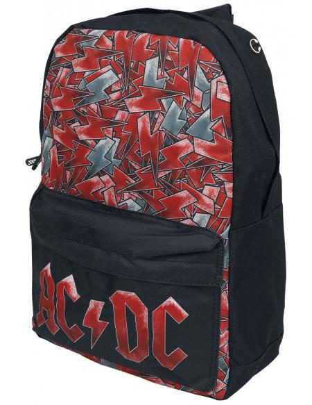 AC/DC AC/DC Logo Sac à Dos noir