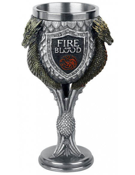 Game Of Thrones Calice Maison Targaryen Graal multicolore