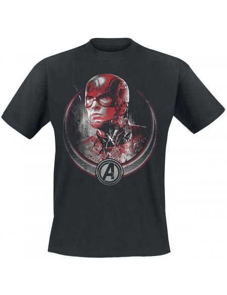 Avengers Endgame - Captain America T-shirt noir