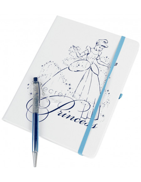 Cendrillon Secret Princess - Carnet & Stylo Cahier multicolore