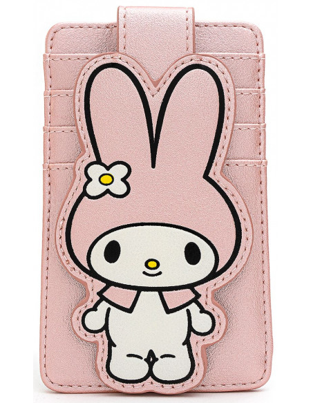 Hello Kitty Loungefly - My Melody Porte-cartes rose clair