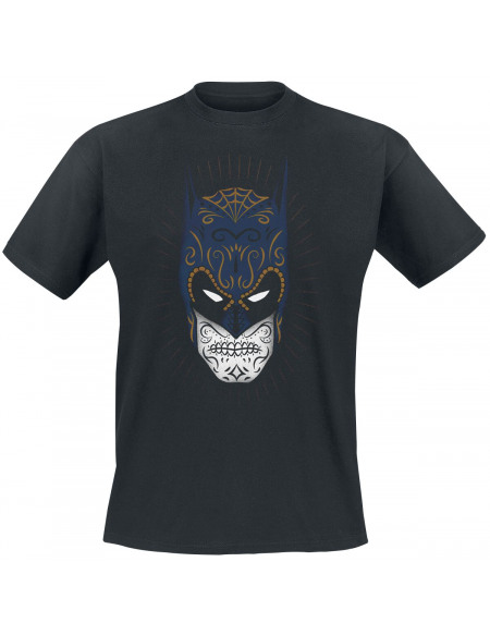 Batman Sugar Skull T-shirt noir