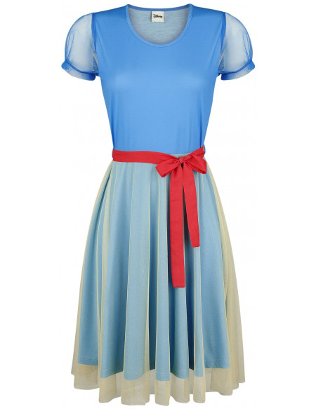 Blanche-Neige et les Sept Nains Cosplay Robe multicolore