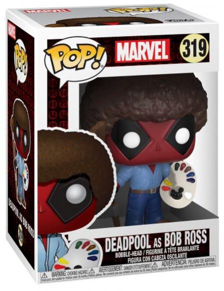 Deadpool Deadpool en Bob Ross - Funko Pop! n°319 Figurine de collection Standard