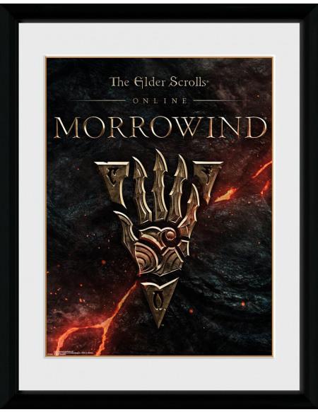 The Elder Scrolls The Elder Scrolls Online Morrowwind - Logo Photo encadrée Standard