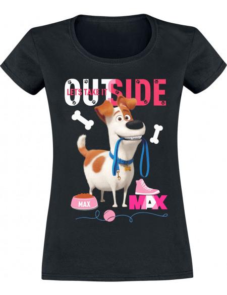 Comme Des Bêtes Comme Des Bêtes 2 - Max - Let's Take It Outside T-shirt Femme noir
