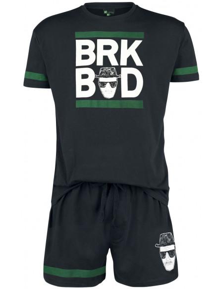Breaking Bad BRK BAD Pyjama noir