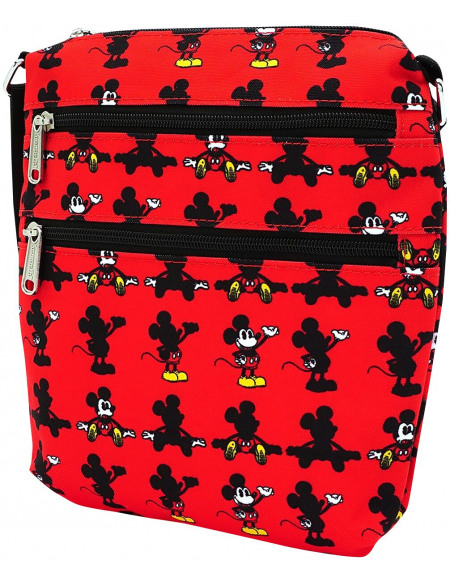 Mickey & Minnie Mouse Loungefly - Micky Maus Sac à Bandoulière rouge