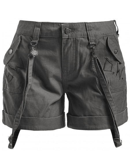 Supernatural To Hell And Back Short Femme olive